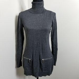 Michael Kors Turtle Neck Tunic Sweater SZ M